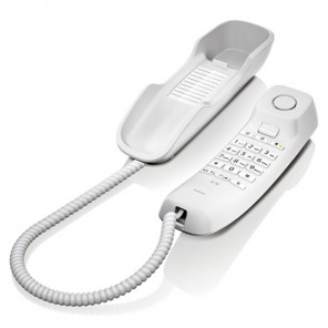 Gigaset DA210 Analogue Phone (White)