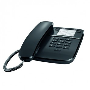 Gigaset DA310 Analogue Desktop Phone - Black