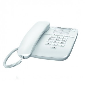 Gigaset DA310 Analogue Desktop Phone - White