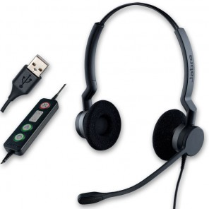 Jabra BIZ 2300 USB Duo Corded PC Headset