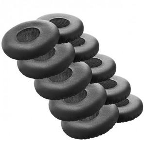 Leatherette Ear Cushion for Jabra Evolve 20, 30, 40, 65 (Pack of 10)