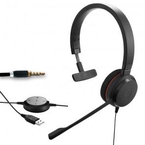 Jabra Evolve 30 II UC Mono PC Headset