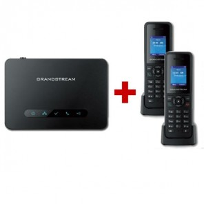 Grandstream DP750 DECT Base + 2 DP720 Handset