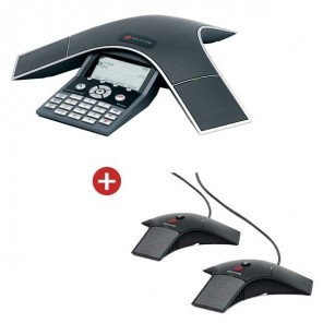 Polycom Soundstation IP 7000 PoE with Expansion Mics