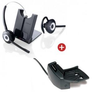 Jabra PRO 920 Cordless Headset + Handset Lifter