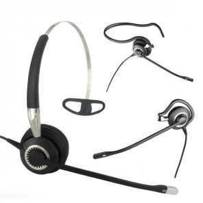 Jabra BIZ 2400 II Mono 3-in-1 UNC Corded Headset