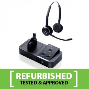 Jabra PRO 9450 Duo Flex Cordless Headset Refurb
