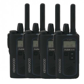 Kenwood TK-3601DE Quad Pack