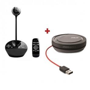 Logitech BCC950 + Plantronics Calisto 3200 - USB-A