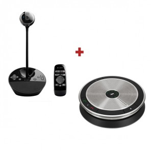 Pack Logitech BCC950 with Sennheiser SP 20 ML