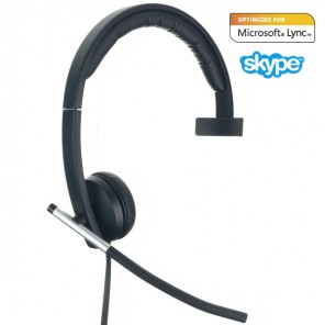 Logitech H570e Mono USB PC Headset