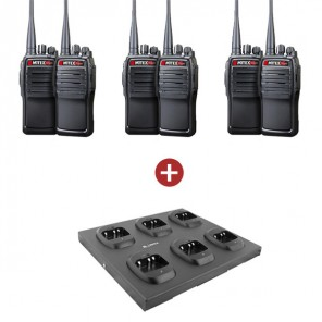 Mitex GeneralX Six Pack with 6 Way Charger