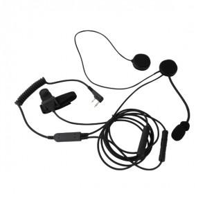 Mitex Open Face Helmet Mic Kit