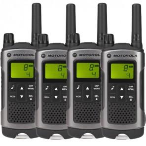 Motorola TLKR T80 - Quad Pack