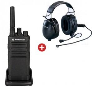 Motorola XT420 + 3M Peltor Flex Headset