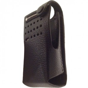 Leather Carry Case for Motorola DP2400 series
