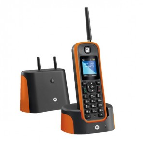 Motorola O201 Cordless DECT Telephone (Orange)