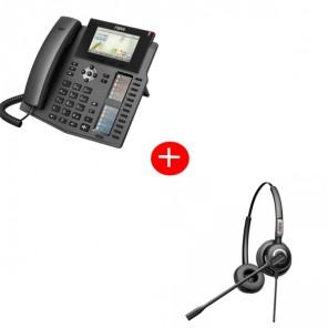 Fanvil X6 Deskphone + Fanvil HT202 Headset