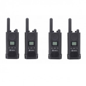 Cobra PU880 Business radios Quad pack