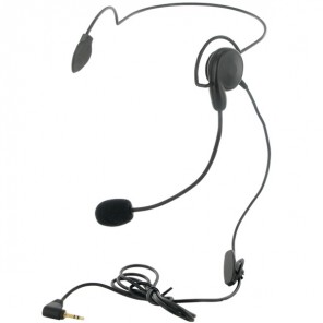 Neckband headset for Motorola 1-Pin Radios