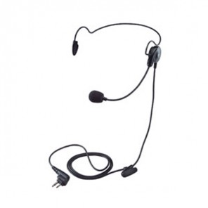 Neckband earpiece for Motorola 2 pin radios