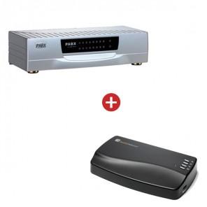 Orchid Telecom PBX 816ex + MOH1 Unit