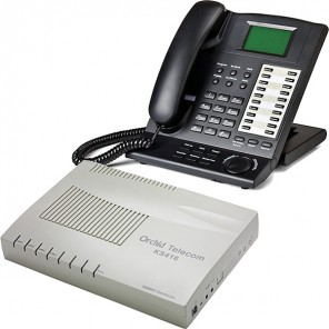 Pack Orchid KS416 phone system + KP416 Key Phone