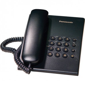 Panasonic KX-TS500 Black Wall Mountable Phones