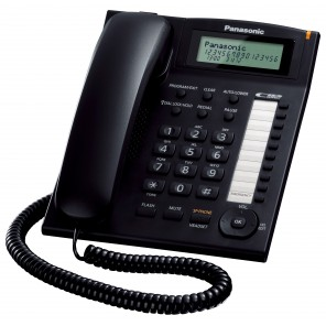 Panasonic KX-TS880 Analogue Desktop Phone (Black)