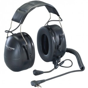 3M Peltor Flex Headset for Motorola Two-Pin Radios