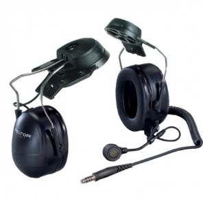 3M Peltor Standard Headset with Helmet Attachment