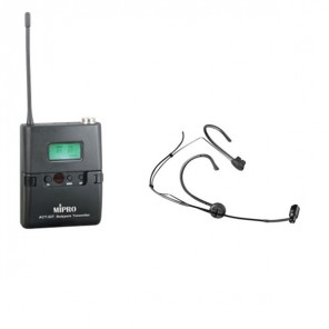 MiPro ACT-32T Transmitter  and MU-53HN Microphone