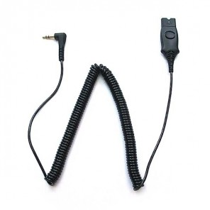 Plantronics QD/Jack 3.5 Cable for Alcatel