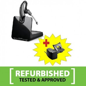 Plantronics CS530 Cordless Headset Refurb + HL10 Handset Lifter