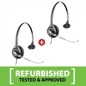 Plantronics SupraPlus H251/A Mono Refurb Two Pack