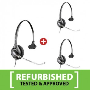 Plantronics SupraPlus H251A Refurb Three Pack