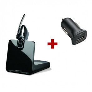 Plantronics Voyager Legend and Car Charger