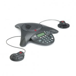 Polycom Soundstation 2 EX with Microphones