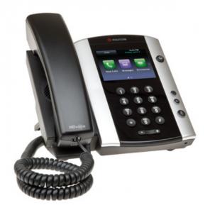 Polycom VVX 500 MS VoIP Desktop Phone