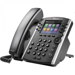 Polycom VVX 400 MS VoIP Desktop Phone (2)