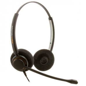 Agent AP-2 Duo Noise-Cancelling Corded Headset