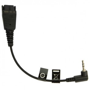 Jabra QD/2.5mm Jack Bottom Cable