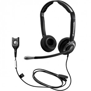 Sennheiser CC 550 IP Duo Corded Headset