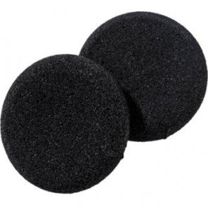 Foam Ear Cushions for Plantronics, Jabra and Sennheiser Headsets (2 Pack)