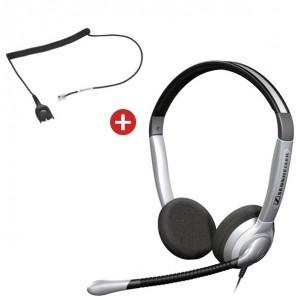 Sennheiser SH350 Headset + CSTD08 Cable