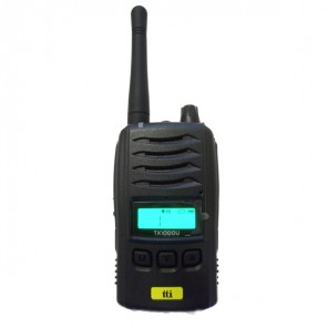 TTI TX-1000U PMR446 Robust Two Way Radio