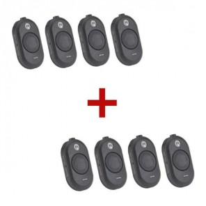 Motorola CLP 446 walkie-talkie 8-Pack