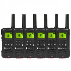 Motorola TLKR T60 Walkie Talkie Six Pack