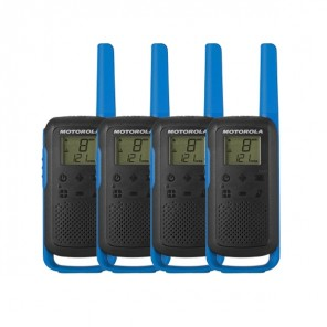 Motorola Talkabout T62 (Blue) Quad Pack