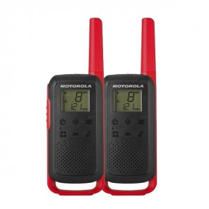 Motorola Talkabout T62 (Red) Twin Pack